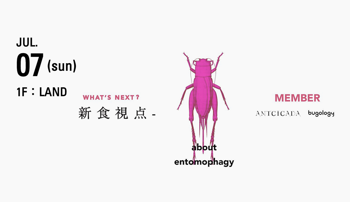 100 BANCH Festival -tableware for Entomophagy-